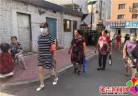 河南街道创城监督员齐上阵 打好创城攻坚战