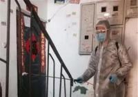 """碧水社区积极开展""""创文明城 灭蚊虫投鼠药""""活动"""