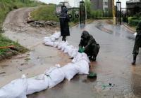 """建工街道多举措应对台风""""美莎克"""" 全力保障群众生命财产安全"""