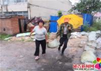 社区做好应急处置  全力抵御海神台风