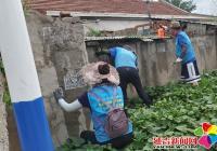 小营镇深挖环境问题推进创城工作