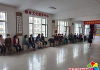 """小营镇东阳社区开展""""提升健康素养,享受健康生活""""宣传活动"""