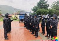 延吉市三道湾镇抗击台风纪实