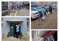 """新兴街道凝聚青春力量  志愿服务为创城""""助跑"""""""