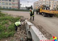 小营镇积极开展创城收尾工作