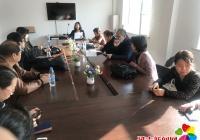 园锦社区组织开展人普正式登记工作部署会