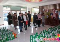 延边锦龙国际旅行社有限公司慰问建工街道一线社区工作者