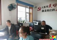 文明社区非公党建指导员助力开展人口普查