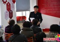 丹英社区开展党的十九届五中全会精神宣讲活动