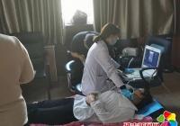 小营镇开展脑卒中免费筛查活动