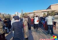 延春社区携手建工派出所开展法制宣传日活动