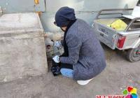 园校社区开展冬季集中投鼠药 除四害活动