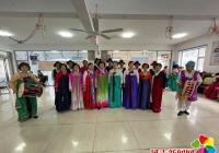 晨光社区老年协会开展迎新年文艺汇演
