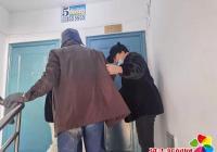 延春社区帮助酒醉居民,爱心战胜严寒暖人心