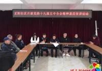 正阳社区新时代文明实践站开展党的十九届五中全会精神基层宣讲活动