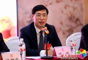 洪庆参加政协联组讨论