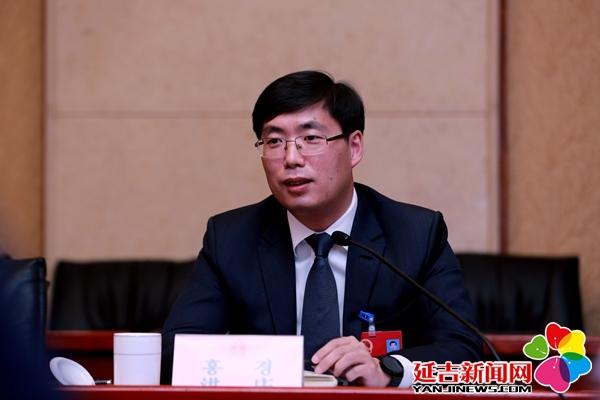 洪庆参加十八届人大五次会议农教科文卫代表团审议