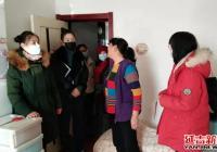 延春社区妇联携手州审查中心走访慰问困难妇女儿童家庭