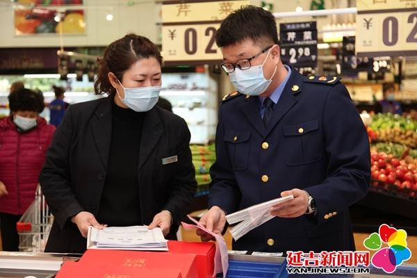延吉市开展元宵节食品检查 未发现不合格产品
