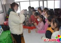 """白山社区组织开展""""凛冬不寒,快乐寒假""""社区实践活动"""