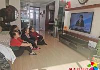 延春社区组织收看全国脱贫攻坚总结表彰大会直播