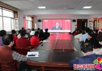 建工街道组织基层宣讲员观看十三届全国人大四次会议开幕式