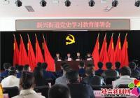 新兴街道召开党史学习教育部署会