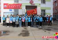 """延兴社区开展""""巩固创城成果,志愿者在行动""""活动"""