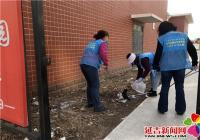 清理环境卫生 巩固创城成果