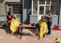 """南阳社区""""文明月""""主题实践活动志愿服务进社区"""