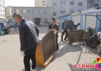 """春阳社区开展""""五一,劳动最光荣!""""社区卫生清扫活动"""