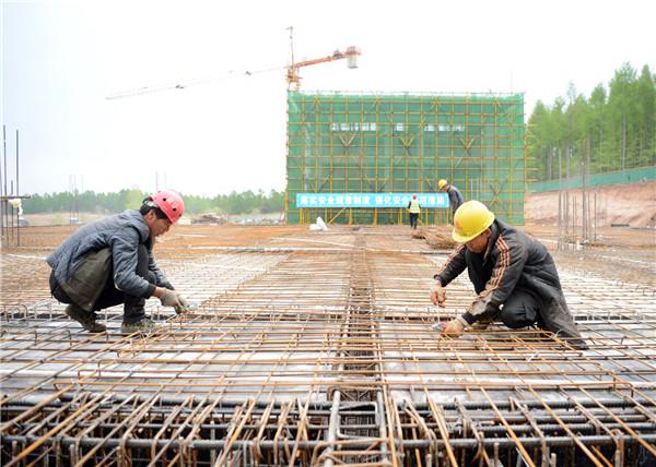 延边民兵训练基地项目续建工程开工