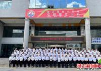 河南街道:百人唱红歌 礼献新时代
