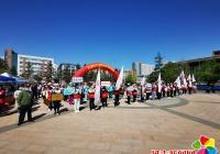 """建工街道开展红十字""""关爱生命 救在身边""""博爱周宣传活动"""