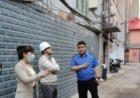 新兴街道积极宣传老旧小区改造工程