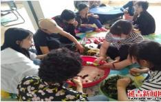 小营镇果树农场开展端午节民俗文化活动