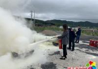 新兴街道开展消防安全演练活动