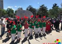 白菊社区、碧水社区共庆建党百年 百位党员同过政治生日