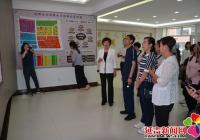 白城市洮北区社区党组织书记到公园街道园辉社区参观交流