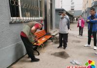 进学街道娇阳社区安装长椅获居民点赞
