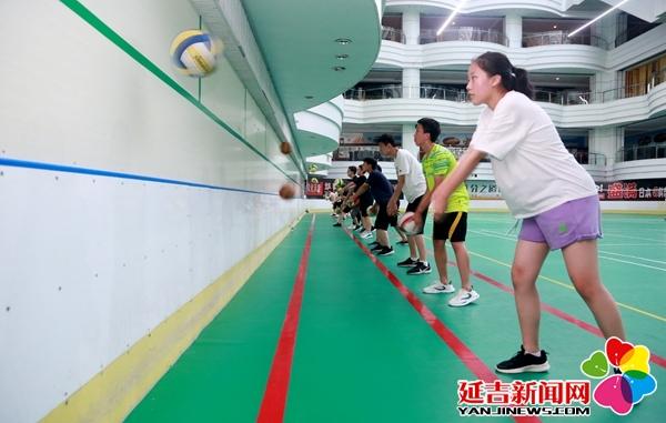 暑假正式开启 延吉学生大军忙健身