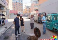 延盛社区携手延吉高新区管委会建设局为辖区居民疏通下水管道