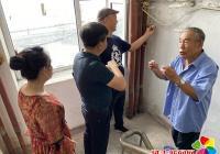 延春社区积极工作旧改项目做到百姓心里