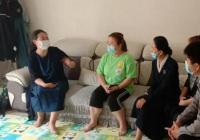 """州妇联副主席朴日仙一行到河南街道调研指导""""低保、供养家庭妇女两癌免费筛查""""工作"""