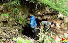 """日本掠夺东北森林资源铁的见证""""小天岭""""隧道浮出水面"""