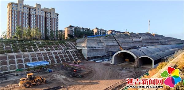延吉市中环路四期工程顺利推进