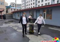 凝心聚力整治环境  助力文明城市复检
