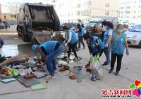 清理楼道杂物 消除安全隐患
