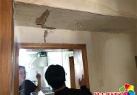 居民房屋渗水漏  丹明社区解烦忧