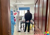 烟厂社区安全有序开展境外人员核酸检测工作